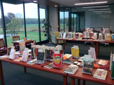 Give a Book display 2012