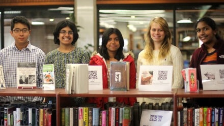 Congratulations to our new Student Library Advisory Board
