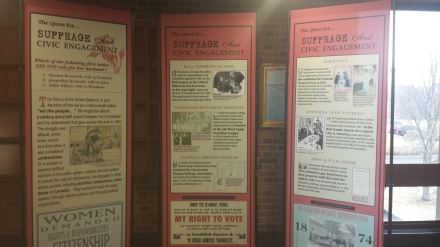 Women's History Month Exhibit