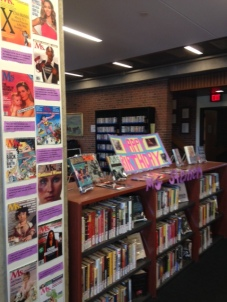Gloria Steinem 1st Floor Display Picture