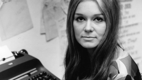 Gloria Steinem Picture of a Young Woman