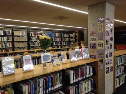 Aubrey's Women's Suffrage Display 2014