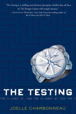 book cover the testing