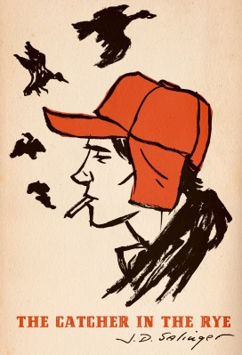 book cover catcher in the rye