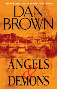 book cover angels & demons