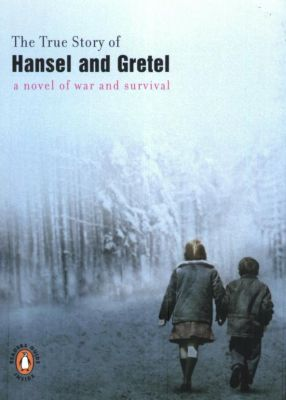 book cover: true story of hansel and gretel